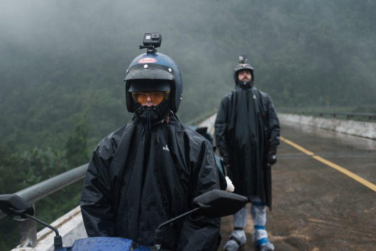 I když přes ten nekonečný déšť, zimu a oblačnost to bylo občas dost náročné.