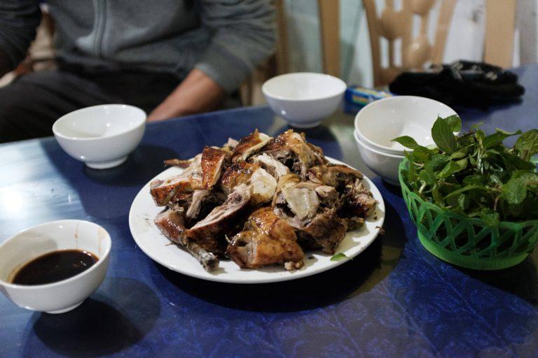 Pečené kuře k večeři...