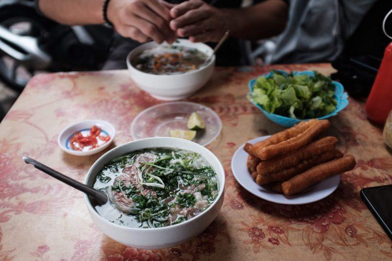 Phở bò - snídaně šampiónů.